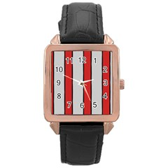 Image Rose Gold Leather Watch