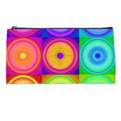 Retro Circles Pencil Case