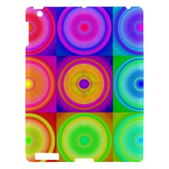 Retro Circles Apple Ipad 3/4 Hardshell Case