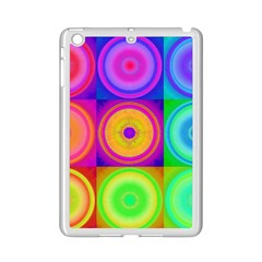 Retro Circles Apple Ipad Mini 2 Case (white)