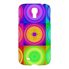 Retro Circles Samsung Galaxy S4 I9500/i9505 Hardshell Case