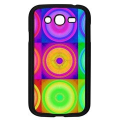 Retro Circles Samsung Galaxy Grand DUOS I9082 Case (Black)