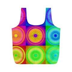 Retro Circles Reusable Bag (M)