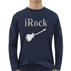 Irock Men s Long Sleeve T Shirt (dark Colored)