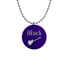 Irock Button Necklace