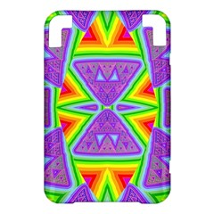 Trippy Rainbow Triangles Kindle 3 Keyboard 3G Hardshell Case