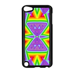 Trippy Rainbow Triangles Apple Ipod Touch 5 Case (black)