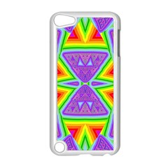 Trippy Rainbow Triangles Apple Ipod Touch 5 Case (white)