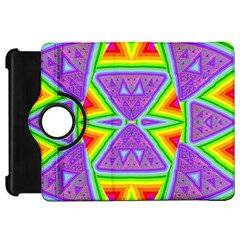 Trippy Rainbow Triangles Kindle Fire HD 7  (1st Gen) Flip 360 Case