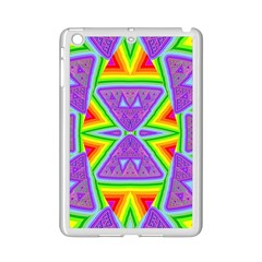 Trippy Rainbow Triangles Apple Ipad Mini 2 Case (white)
