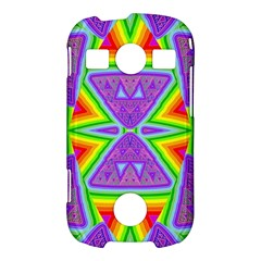 Trippy Rainbow Triangles Samsung Galaxy S7710 Xcover 2 Hardshell Case