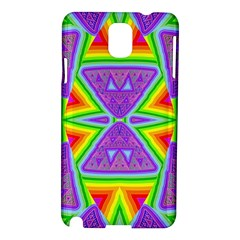 Trippy Rainbow Triangles Samsung Galaxy Note 3 N9005 Hardshell Case