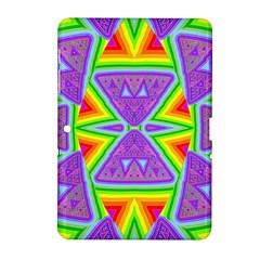 Trippy Rainbow Triangles Samsung Galaxy Tab 2 (10.1 ) P5100 Hardshell Case