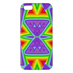 Trippy Rainbow Triangles Iphone 5s Premium Hardshell Case