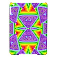 Trippy Rainbow Triangles Apple iPad Air Hardshell Case