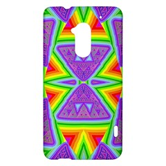Trippy Rainbow Triangles HTC One Max (T6) Hardshell Case