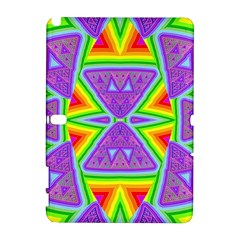 Trippy Rainbow Triangles Samsung Galaxy Note 10.1 (P600) Hardshell Case