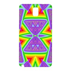 Trippy Rainbow Triangles Samsung Galaxy Note 3 N9005 Hardshell Back Case
