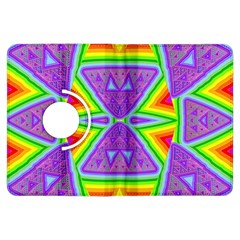 Trippy Rainbow Triangles Kindle Fire Hdx 7  Flip 360 Case