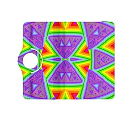 Trippy Rainbow Triangles Kindle Fire HDX 8.9  Flip 360 Case