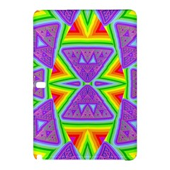 Trippy Rainbow Triangles Samsung Galaxy Tab Pro 10.1 Hardshell Case