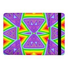 Trippy Rainbow Triangles Samsung Galaxy Tab Pro 10 1  Flip Case