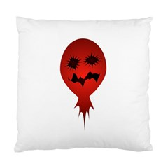Evil Face Vector Illustration Cushion Case (two Sided)