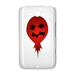 Evil Face Vector Illustration HTC ChaCha / HTC Status Hardshell Case