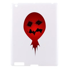 Evil Face Vector Illustration Apple Ipad 3/4 Hardshell Case