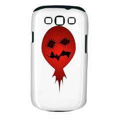Evil Face Vector Illustration Samsung Galaxy S III Classic Hardshell Case (PC+Silicone)