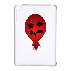 Evil Face Vector Illustration Apple Ipad Mini Hardshell Case (compatible With Smart Cover)