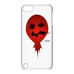 Evil Face Vector Illustration Apple Ipod Touch 5 Hardshell Case With Stand