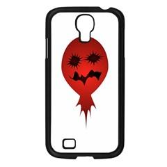 Evil Face Vector Illustration Samsung Galaxy S4 I9500/ I9505 Case (Black)