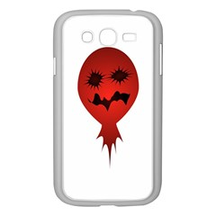 Evil Face Vector Illustration Samsung Galaxy Grand Duos I9082 Case (white)