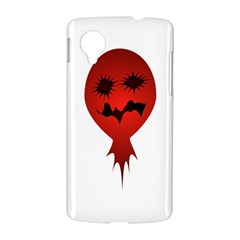 Evil Face Vector Illustration Google Nexus 5 Hardshell Case