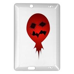 Evil Face Vector Illustration Kindle Fire HD 7  (2nd Gen) Hardshell Case