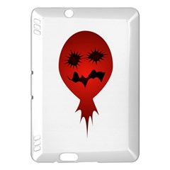 Evil Face Vector Illustration Kindle Fire HDX 7  Hardshell Case