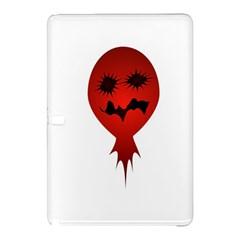 Evil Face Vector Illustration Samsung Galaxy Tab Pro 10.1 Hardshell Case