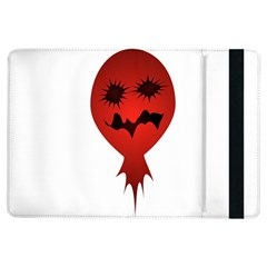 Evil Face Vector Illustration Apple iPad Air Flip Case