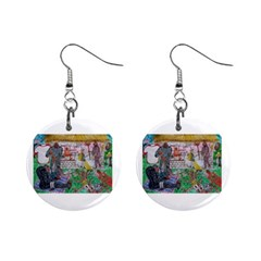 You ll Be Mine, Song  Mini Button Earrings