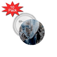 Feeling Blue 1 75  Button (10 Pack)