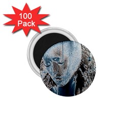 Feeling Blue 1.75  Button Magnet (100 pack)