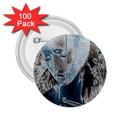 Feeling Blue 2.25  Button (100 pack)