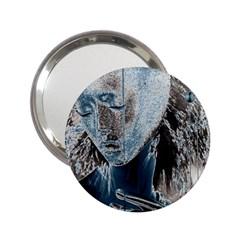 Feeling Blue Handbag Mirror (2 25 )