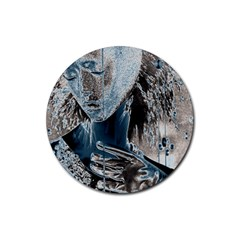Feeling Blue Drink Coasters 4 Pack (Round)