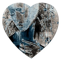 Feeling Blue Jigsaw Puzzle (Heart)