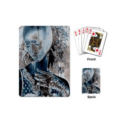 Feeling Blue Playing Cards (mini)