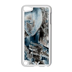 Feeling Blue Apple iPod Touch 5 Case (White)