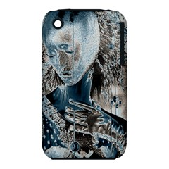 Feeling Blue Apple Iphone 3g/3gs Hardshell Case (pc+silicone)