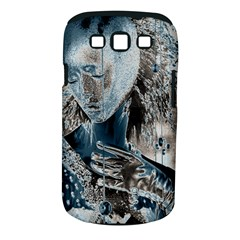 Feeling Blue Samsung Galaxy S III Classic Hardshell Case (PC+Silicone)